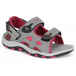 Crossroad MEGAN sivá 28 - Detské sandále
