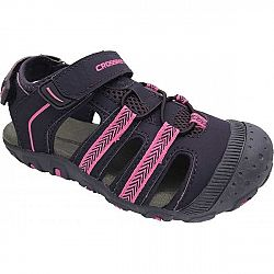 Crossroad MILL fialová 33 - Detské sandále