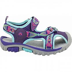 Crossroad MORTY fialová 26 - Detské sandále