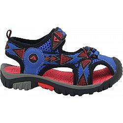 Crossroad MORTY modrá 31 - Detské sandále