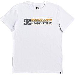 DC BUTAINER SS biela M - Pánske tričko