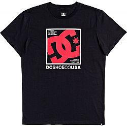 DC MAGNUM CONTACT SS čierna S - Pánske tričko