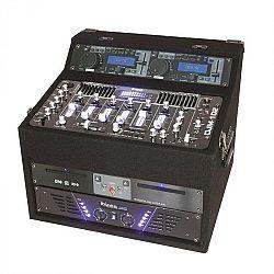 DJ station Ibiza DJ1000MKII, CD, MP3, USB, SD, AUX