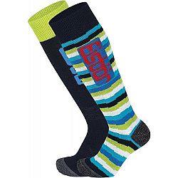 Eisbär COMFORT 2 PACK ASS JR modrá 31-34 - Juniorské  lyžiarske ponožky
