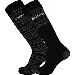 Eisbär SKI COMFORT 2 PACK biela 35-38 - Lyžiarske ponožky