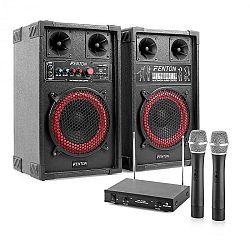 Electronic-Star Karaoké set STAR-Mitte, reproduktory, mikrofón, 400 W