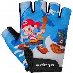 Etape REX biela 3-4 - Detské cyklistické rukavice