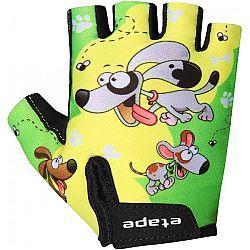 Etape REX RUKAVICE KIDS  7-8 - Detské cyklistické rukavice
