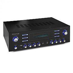 Fenton AV340BT, surround HiFi zosilňovač, 510 W RMS (2 x 180 W na 8 Ohm), BT/USB/AUX