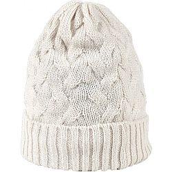 Finmark DIVISION biela UNI - Dámska pletená čiapka