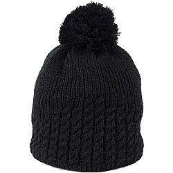 Finmark DIVISION čierna UNI - Pletená čiapka