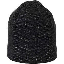 Finmark ZIMNÁ ČIAPKA čierna UNI - Dámska pletená čiapka