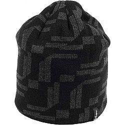 Finmark ZIMNÁ ČIAPKA čierna UNI - Pánska pletená čiapka