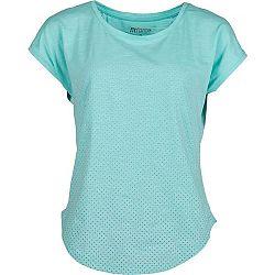 Fitforce LEESA zelená M - Dámske tričko