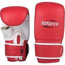 Fitforce WIDGET červená M - Boxerské rukavice