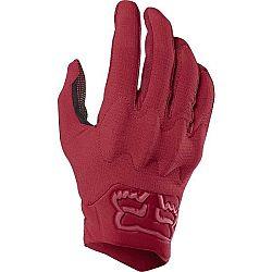 Fox DEFEND D3O červená M - Pánske cyklistické rukavice