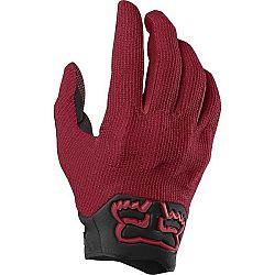 Fox DEFEND KEVLAR červená S - Pánske cyklistické rukavice