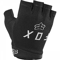 Fox RANGER GLOVE GEL SHORT sivá M - Cyklistické rukavice