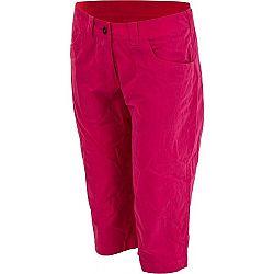 Hannah CAPRI ružová 34 - Dámske nohavice