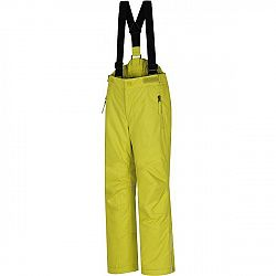 Hannah KALHOTY AKITA JR žltá 128 - Detské lyžiarske nohavice