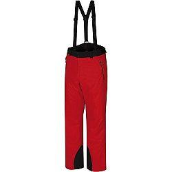 Hannah LARRY červená M - Pánske lyžiarske nohavice