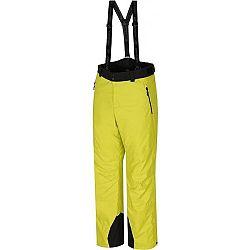 Hannah LARRY žltá XXL - Pánske lyžiarske nohavice