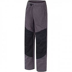 Hannah TWIN JR čierna 128 - Detské nohavice