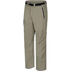 Hannah WRAP II hnedá S - Pánske nohavice