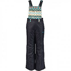 Head FLOI čierna 116-122 - Detské zimné nohavice
