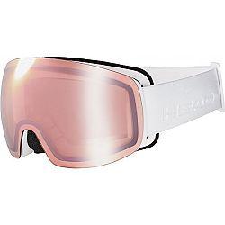 Head GALACTIC FMR COPPER + SPARELENS biela NS - Dámske lyžiarske okuliare