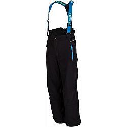 Head LING modrá 116-122 - Detské lyžiarske softshellové nohavice