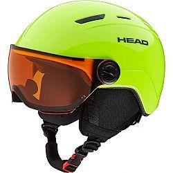 Head MOJO VISOR žltá (47 - 51) - Juniorská lyžiarska prilba