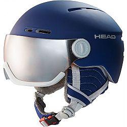 Head QUEEN tmavo modrá (54 - 57) - Dámska lyžiarska prilba