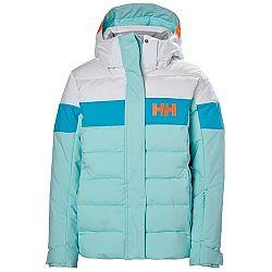 Helly Hansen JR DIAMOND JACKET modrá 8 - Dievčenská lyžiarska bunda