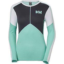 Helly Hansen LIFA ACTIVE CREW W tmavo zelená L - Dámske termo tričko