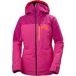 Helly Hansen POWCHASER LIFALOFT JACKET W ružová XL - Dámska lyžiarska bunda