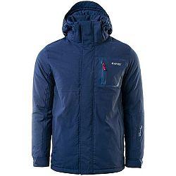 Hi-Tec NANUK tmavo modrá M - Pánska zimná bunda