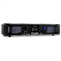 HiFi a PA zosilňovač Skytec SPL 2000, 5600 W, USB, SD, MP3