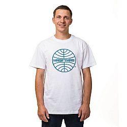 Horsefeathers AIRLINES T-SHIRT biela L - Pánske tričko
