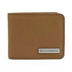 Horsefeathers BRAD WALLET hnedá  - Pánska peňaženka