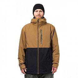 Horsefeathers DAGGER JACKET hnedá M - Pánska lyžiarska/snowboardová bunda
