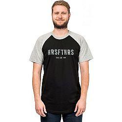 Horsefeathers HRSFTHRS T-SHIRT šedá L - Pánske tričko