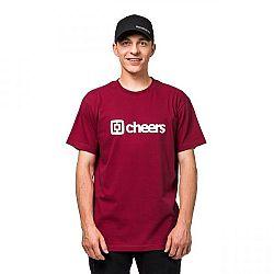 Horsefeathers SKAL T-SHIRT červená XL - Pánske tričko