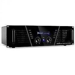 Ibiza AMP - 800 DJ PA dvojúrovňový zosilňovač 1200W MOSFET
