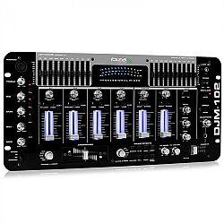 Ibiza Profesionálny IBIZA DJM-102 4-kanálový mix, LED, echo efekt