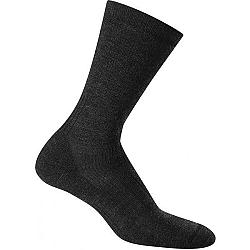 Icebreaker HIKE MEDIUM CREW tmavo šedá M - Ponožky na turistiku