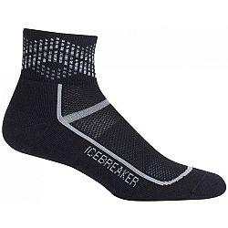Icebreaker MULTISPORT MINI LC M čierna M - Pánske ponožky