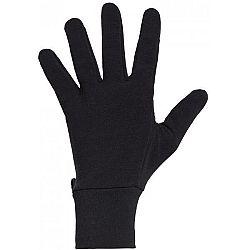 Icebreaker SIERRA GLOVES čierna XL - Všestranné rukavice z Mrino vlny