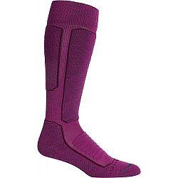 Icebreaker SKI + MEDIUM OTC fialová S - Lyžiarske ponožky
