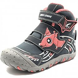 Junior League ABDON 2 HIGH béžová 34 - Detská obuv